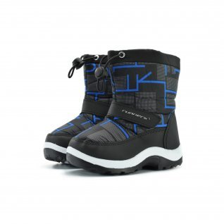 Kids snow boots Runners, RNS-172-66039, black/blue