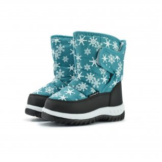 Kids snow boots Runners, RNS-172-66050, aqua
