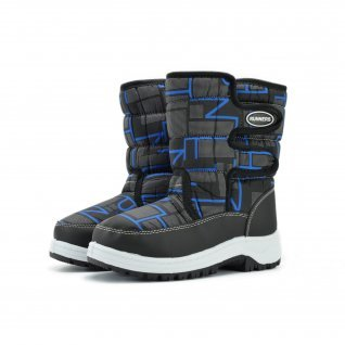 Kids snow boots Runners, RNS-172-66056, black/blue
