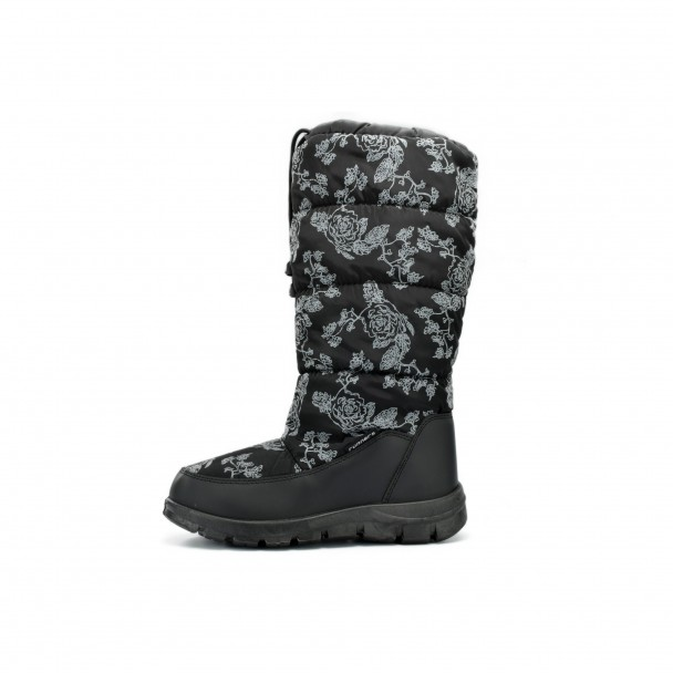 Woman snow boots Runners, RNS-172-66068, black