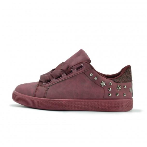 Дамски спортни обувки Iniq, OMD-02, бордо