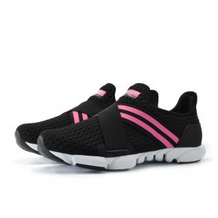 Woman running shoes Runners, RNS-181-1685, black/fuxia