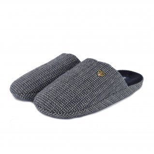 Men home slippers RUNNERS, RNS-182-170959, blue