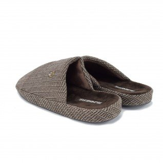 Men home slippers RUNNERS, RNS-182-170959, brown
