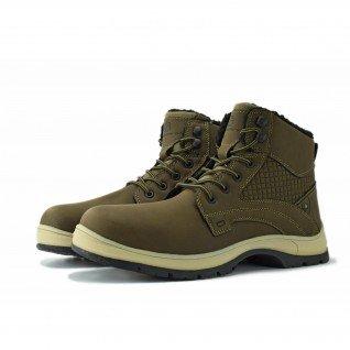 Men boots Runners, RNS-182-002, Brown