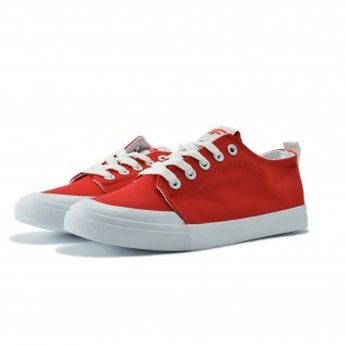 Woman sneakers Runners, A-759, red