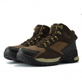 Men boots Runners, RNS-182-17507, Brown
