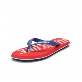 Men flip flops Runners, RNS-191-510245, Red
