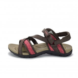 Woman sandals Runners, RNS-191-023, Brown