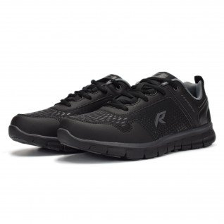 Men running shoes Runners BASE JUMP, RNS-191-1821, Black