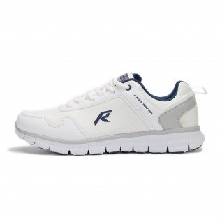 Men running shoes Runners BASE JUMP, RNS-191-1821, White