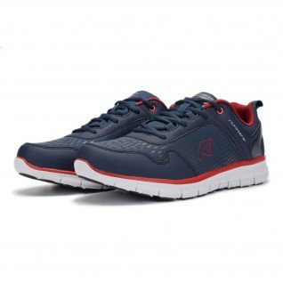 Men running shoes Runners BASE JUMP, RNS-191-1821, Navy