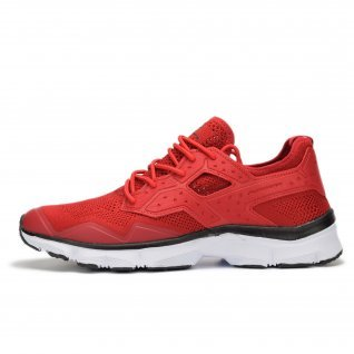 Men running shoes Runners BEAST, RNS-191-17167, Red