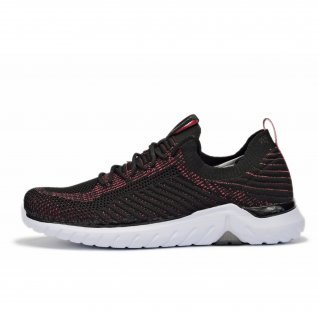 Woman running shoes Runners RUNKNIT, RNS-191-3230, Black