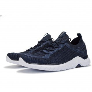 Men running shoes Runners RUNKNIT, RNS-191-3230, Navy
