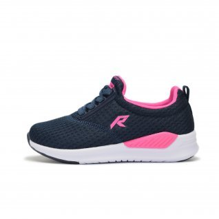 Kids running shoes Runners FAMILY STYLE, RNS-191-2978, Navy/Pink