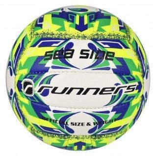 Volleyball RUNNERS BEACH VOLLEY GREEN/BLUE, size 5