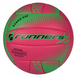 Volleyball RUNNERS BEACH VOLLEY NEON/PINK, size 5