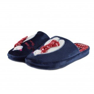 Woman home slippers RUNNERS, RNS-192-1801625, blue