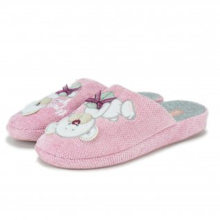 Woman home slippers RUNNERS, RNS-192-1801093, pink
