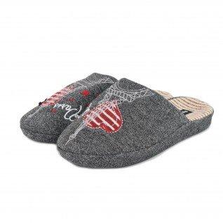 Women home slippers RUNNERS, RNS-192-1801456, grey