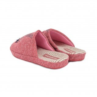 Women home slippers RUNNERS, RNS-192-1801456, red