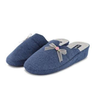 Woman home slippers RUNNERS, RNS-192-180879, blue