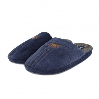Men home slippers RUNNERS, RNS-192-1801482, blue