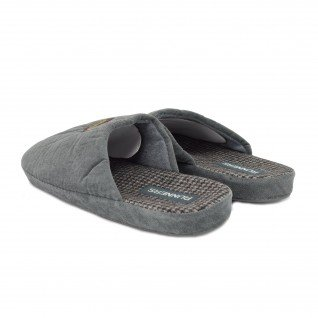 Men home slippers RUNNERS, RNS-192-1801482, grey