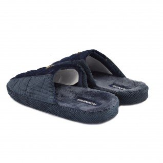 Men home slippers RUNNERS, RNS-192-1801628, blue