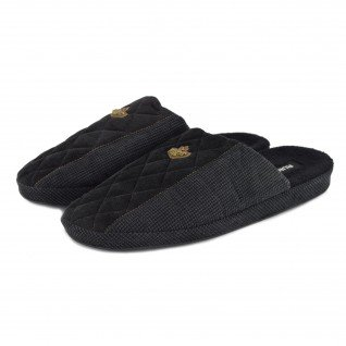 Men home slippers RUNNERS, RNS-192-1801628, black
