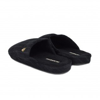 Men home slippers RUNNERS, RNS-192-170108, black