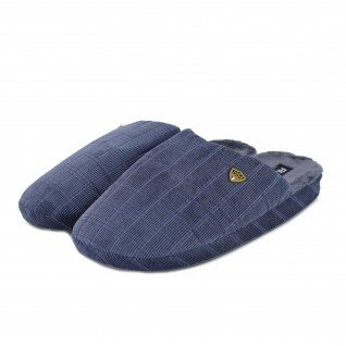 Men home slippers RUNNERS, RNS-192-170108, blue