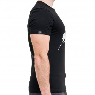 Men t-shirt RUNNERS CLASSIC, black