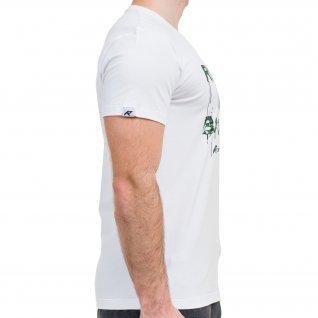 Men t-shirt RUNNERS RUN AWAY CAMOUFLAGE, white