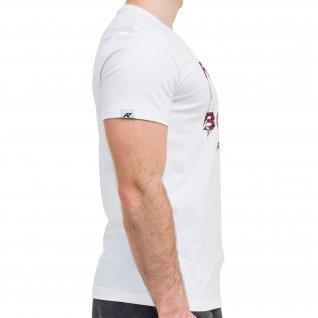 Men t-shirt RUNNERS RUN AWAY, white