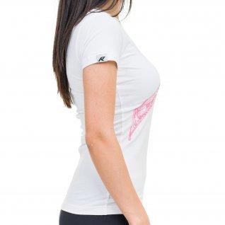 Woman t-shirt RUNNERS GRAFFITI, white