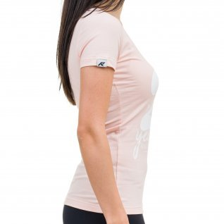 Woman t-shirt RUNNERS 20TH, coral