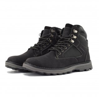 Men boots Runners, RNS-192-8161, Black