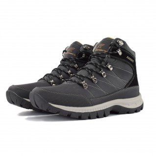 Men boots Runners, RNS-192-001, Black