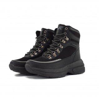 Women boots Runners, RNS-192-8816, Black