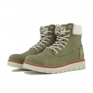 Women boots Runners, RNS-192-809218, Olive