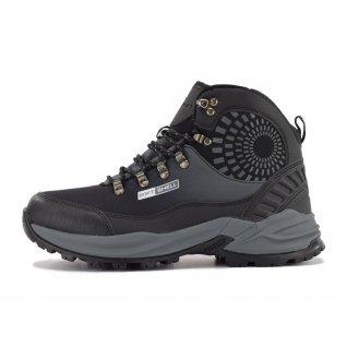 Men boots Runners, RNS-192-17380, Black