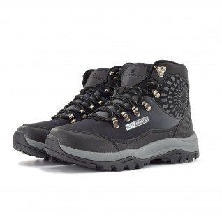 Women boots Runners, RNS-192-17380, Black