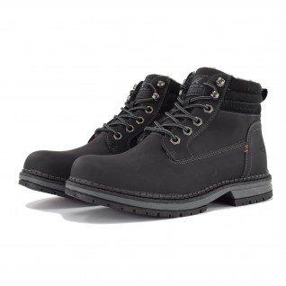 Men boots Runners, RNS-192-201901, Black