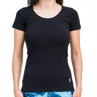 Woman t-shirt RUNNERS REGULAR, black