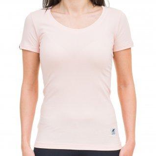 Woman t-shirt RUNNERS REGULAR, coral