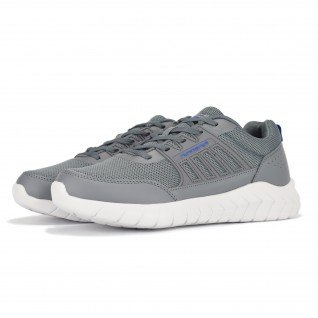 Men running shoes Runners FULL STEP, RNS-201-102, Dk.Grey