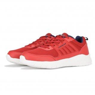 Men running shoes Runners FULL STEP, RNS-201-102, Red