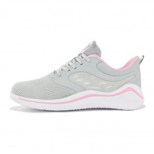 Woman running shoes Runners BUTTERFLY, RNS-201-3722, Lt.Grey